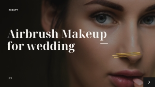Airbrush Makeup for Wedding - HD Makeover