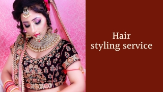 Hair Styling Services - HD Makeover