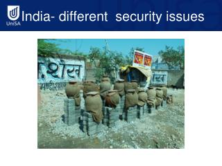 India- different  security issues