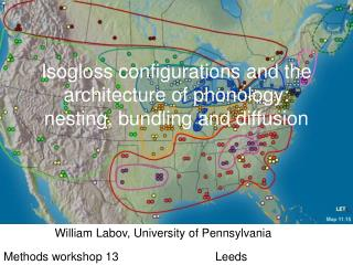 Isogloss configurations and the architecture of phonology:  nesting, bundling and diffusion
