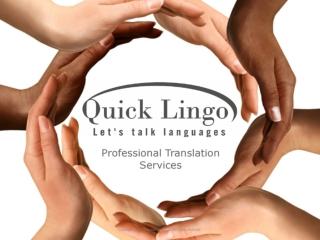 Quick Lingo - Professional Translation Services