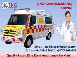 Most Demanding King Road Ambulance Service in Patna and Muzaffarpur