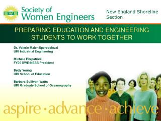 PREPARING EDUCATION AND ENGINEERING STUDENTS TO WORK TOGETHER