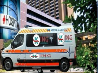 Book Hassle-Free Ventilator Ambulance Service in Delhi by King
