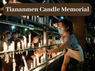 Hong Kongers defy ban and hold Tiananmen candle memorial