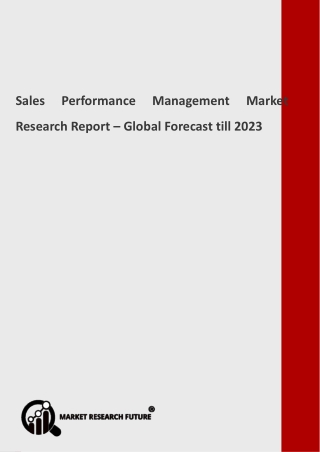 Sales Performance Management Industry