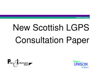 New Scottish LGPS Consultation Paper