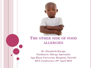 Preventing Food Allergy Emergencies and Managing Anaphylactic Reactions