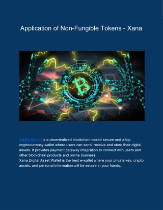 XANA Wallet | Multi Cryptocurrency Wallet for BTC, ETH, XPR