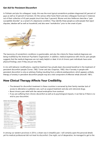 Sharp Pain vs. Chronic Pain: What it is & & Distinctions Sorts of Discomfort: Instances and categories to Assist Def