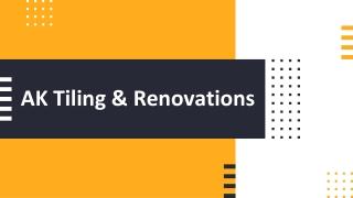 Bathroom Tiling Melbourne - AK Tiling & Renovations